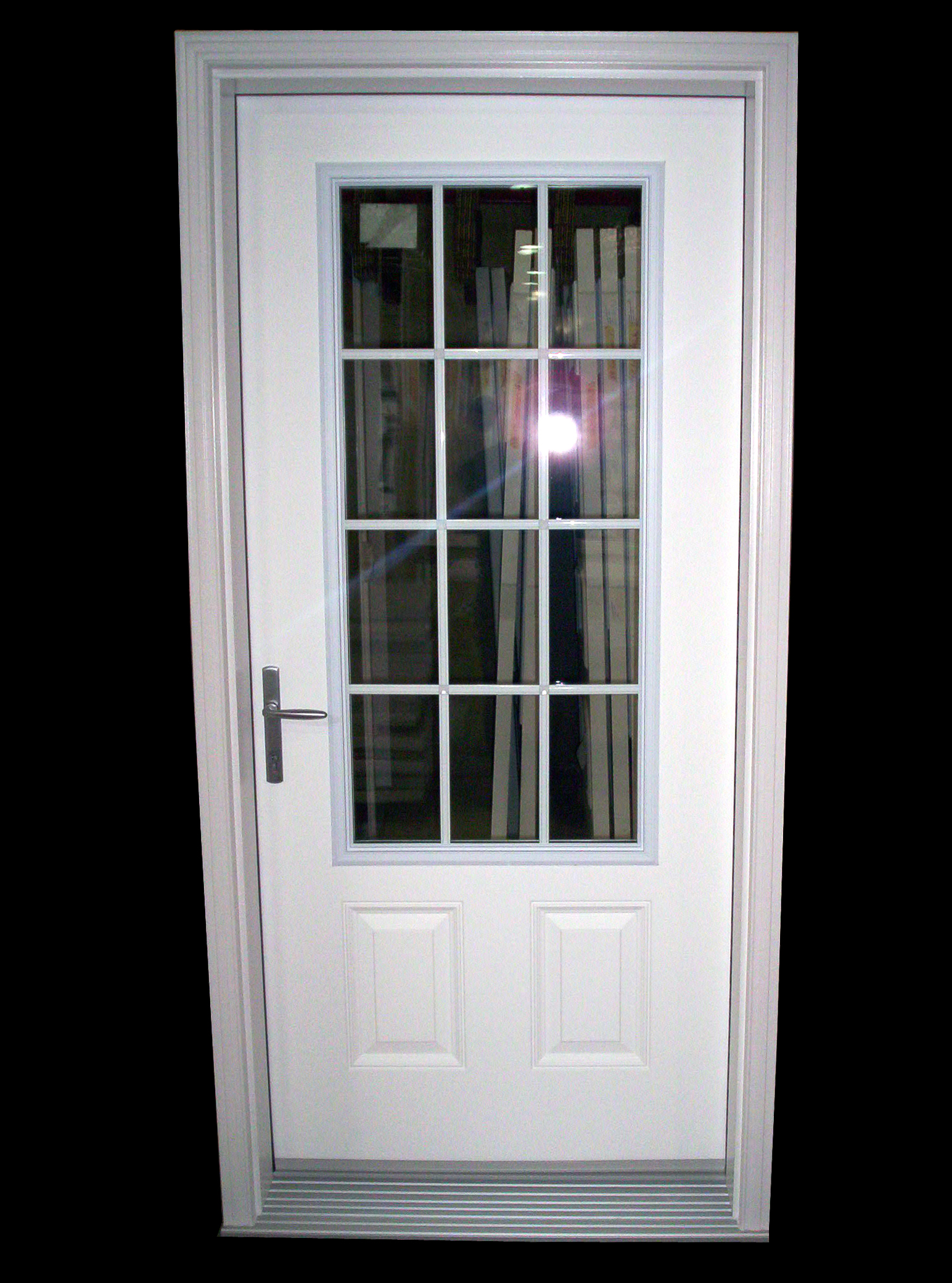 2080 #484D5A  Point Locking System Offers Four Points Of Forced Entry Resistance pic Residential Security Doors Exterior 41111544